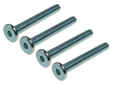 STEEL FLAT HEAD CONNECTOR BOLT M8, SW-5