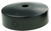 FURNITURE FOOT DIAM 60 X 20 MM, BLACK COLOUR