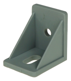INTERNAL ANGLE BRACKET, PLASTIC, GREY