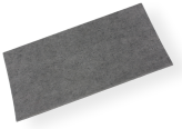ADHESIVE FELT PADS FOR FURNITURE 300X200 MM (1 PCS) GREY