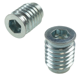 SCREW IN INSERT M10 X 25 MM WITH COLLAR WITH IMBUS CUT