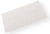 ADHESIVE SQUARE FELT PAD FOR FURNITURE 300x200 MM, WHITE