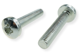 METRIC SCREW M6 WITH PAN HEAD, PZD DRIVE