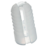 PLASTIC KNOCK DOWN INSERT DIAM 5 X 10 MM