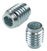 SCREW IN INSERT M8 X 20 MM WITHOUT COLLAR WITH IMBUS CUT