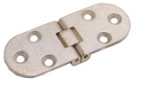 ZAMAK INVISIBLE HINGES 6-HOLES, 80X30 MM