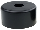 FURNITURE FOOT DIAM 50 X 25 MM, BLACK COLOUR