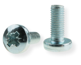 METRIC SCREW M8 WITH PAN HEAD, PZD DRIVE