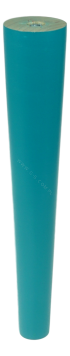 BEECH WOODEN LEG, CONE DESIGN, H - 200 MM, STRAIGHT, TURQUOISE LACQUERED