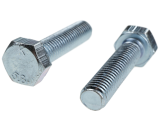 HEXAGON METRIC SCREW M10, GRADE 5.8, FULL THREAD