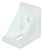 INTERNAL ANGLE BRACKET, PLASTIC, WHITE