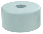 FURNITURE FOOT DIAM 50 X 25 MM, GREY COLOUR