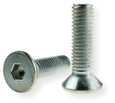 METRIC SCREW M10, FLAT HEAD, SW-6 DRIVE